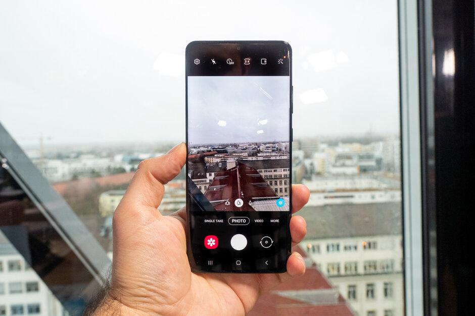 صورة لكاميرا Samsung Galaxy S20 Ultra