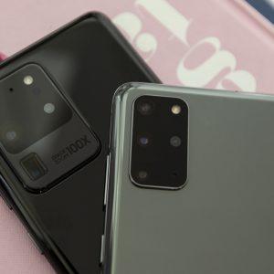صورة لهاتف Samsung Galaxy S20 Ultra الجديد